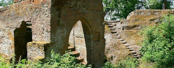 Ebern Ruine Rotenhanx